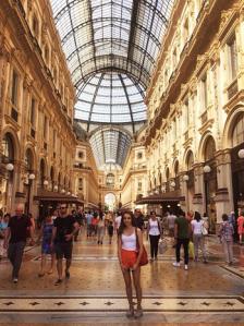 Galleria'da çekilmiş fotoğrafım