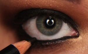 Göz pınarı: Fotoğrafta kalemin çekildiği yer
