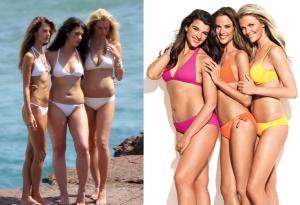 Photoshop öncesi ve sonrası