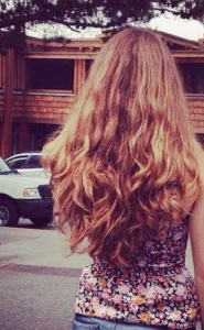 Benim saçım, geçen yıldan