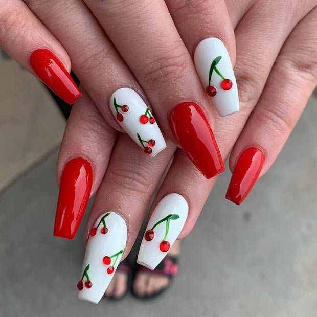 43 Super Cute Nails You Can Totally Do at Home _ Page 4 of 4 _ StayGlam